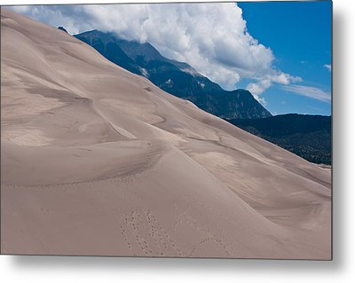 Miles Of Sand Metal Print by Colleen Coccia