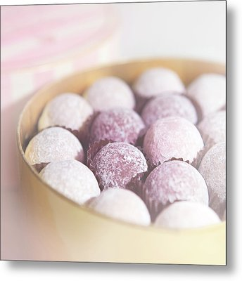 Milk Chocolate Truffles Metal Print by Peter Chadwick LRPS