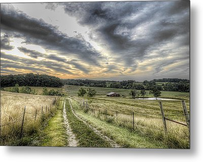 Missouri Dawn Metal Print by William Fields
