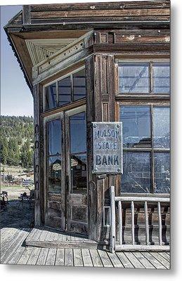 Molson Washington Ghost Town Bank Metal Print by Daniel Hagerman
