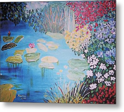 Monet Style By Alanna Metal Print by Alanna Hug-McAnnally