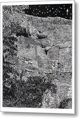 Montezuma Castle  Metal Print by Jack Pumphrey