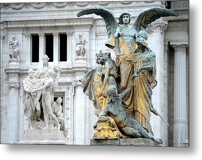Monument Metal Print by Tammy McKinley