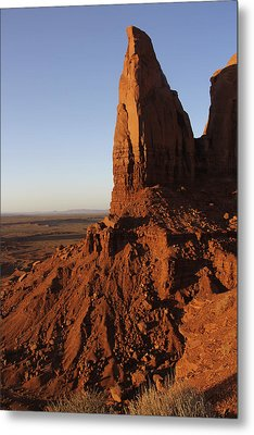 Monument Valley High-lites Metal Print by Mike McGlothlen