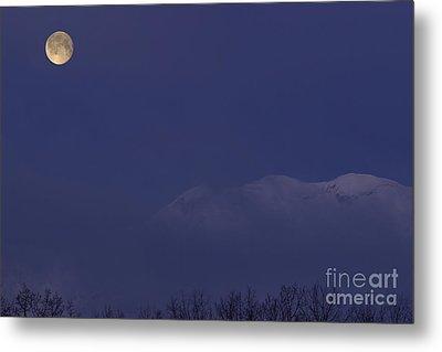 Moon At Dawn Metal Print by Yuichi Takasaka