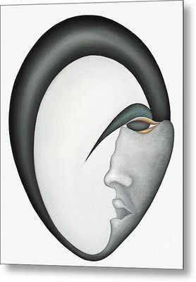 Moon Brother Metal Print by Joanna Pregon