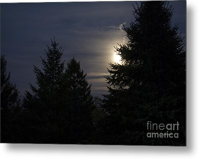 Moon Rising 01 Metal Print by Thomas Woolworth