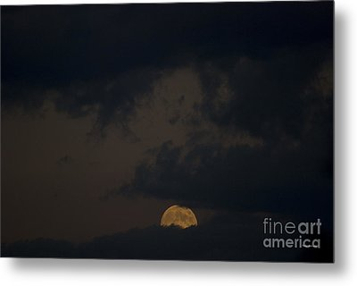 Moon Rising 03 Metal Print by Thomas Woolworth