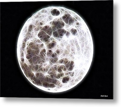 Moon Metal Print by Stephen Younts