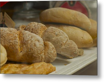 Morning Bread Metal Print by William  Carson Jr