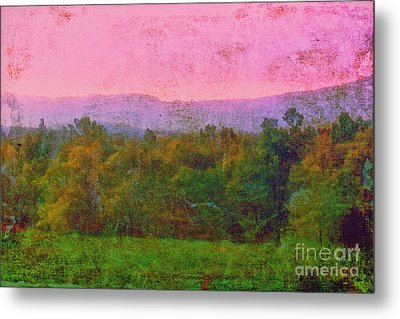 Morning In The Mountains Metal Print by Judi Bagwell