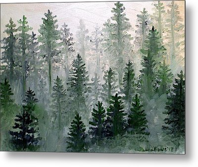 Morning In The Mountains Metal Print by Shana Rowe Jackson