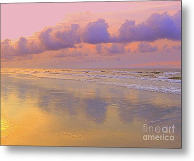 Morning On The Beach  Metal Print by Lydia Holly