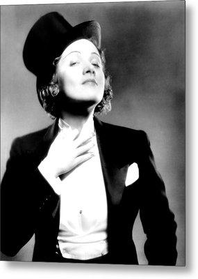 Morocco, Marlene Dietrich, 1930 Metal Print by Everett