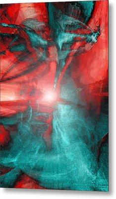 Morphing Thru Time Metal Print by Linda Sannuti