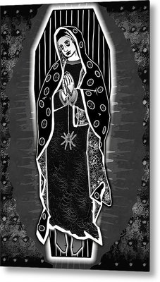 Morticia Guadalupe' Metal Print by Travis Burns