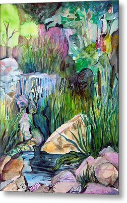 Moses In The Bull Rushes Metal Print by Mindy Newman