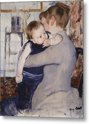 Mother And Child Metal Print by Mary Stephenson