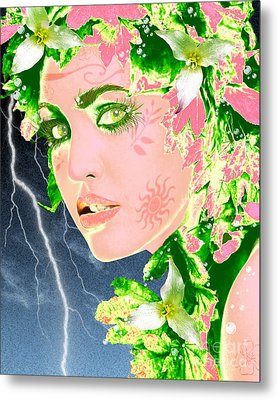 Mother Nature Metal Print by Methune Hively