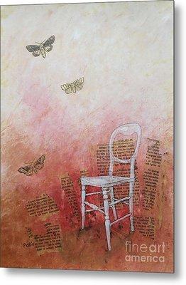 Moths Metal Print by Paul OBrien