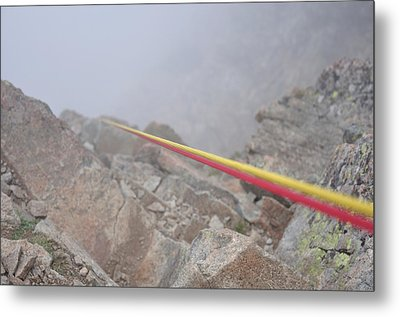 Mountain Strings Metal Print by Miguel Sotomayor