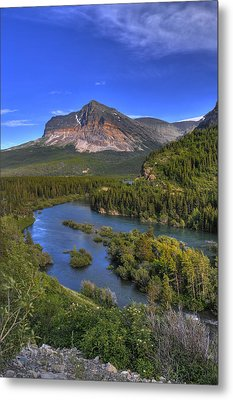 Mountana Wilderness Metal Print by Don Wolf