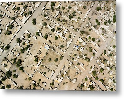 Moussoro Is A Large Town Northeast Metal Print by Michael Fay