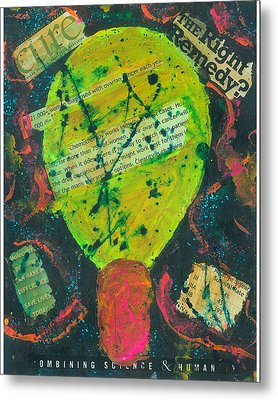 Movers And Shakers-clearity Foundation Metal Print by Annette McElhiney