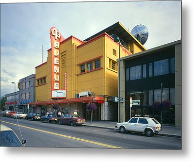 Movie Theaters, Fourth Avenue Theatre Metal Print by Everett