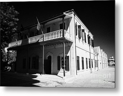 Municipal Cultural Centre And City Museum And Archives In The Restored Old Colonial Port Larnaca  Metal Print by Joe Fox