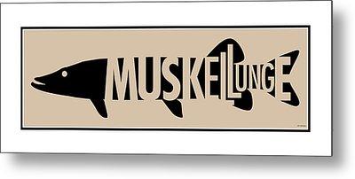 Muskellunge Metal Print by Geoff Strehlow