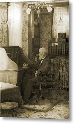 My Great-great-grandfather 1885 Metal Print by Jan W Faul