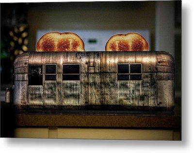My Old Toaster Metal Print by Jan Maklak