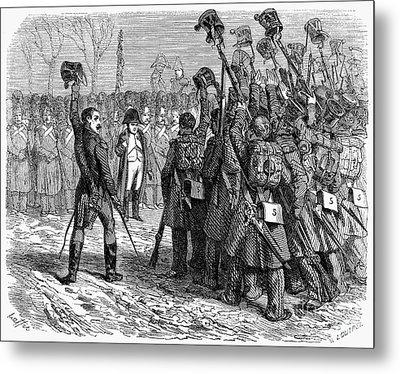 Napoleons Return, 1815 Metal Print by Granger