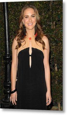 Natalie Portman Wearing A Vena Cava Metal Print by Everett