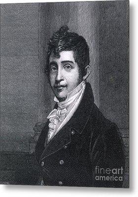 Nathan Appleton (1779-1861) Metal Print by Granger