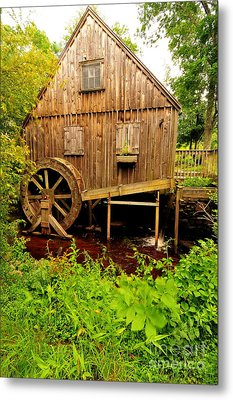 Nathaniel Thomas Mill Metal Print by Catherine Reusch  Daley