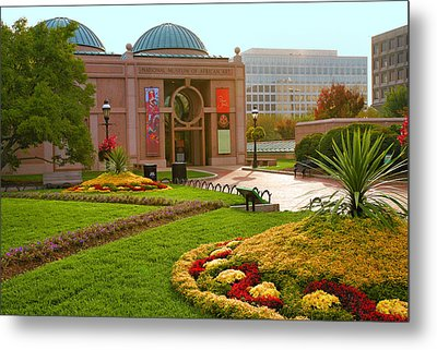 National Museum Of African Art Metal Print by Steven Ainsworth