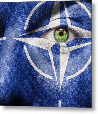 Nato Metal Print by Semmick Photo