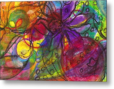 Nature Wild At Heart Metal Print by Claudia Smaletz
