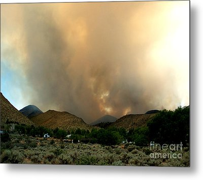 Natures Fury  Metal Print by The Kepharts