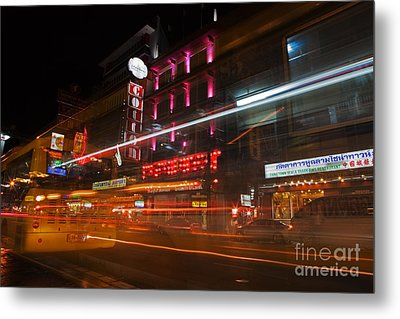 Neon Madness II Metal Print by Pete Reynolds