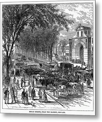 New Jersey: Newark, 1876 Metal Print by Granger