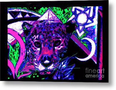 New Mu Jaguar Metal Print by Susanne Still