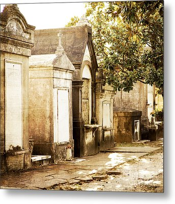 New Orleans Lafayette Cemetery No.1 Metal Print by Kim Fearheiley