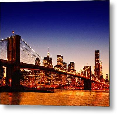 New York Cityscape Metal Print by ©jesuscm
