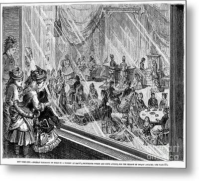 New York: Macys, 1876 Metal Print by Granger