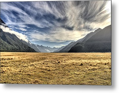 New Zealand Road Trip Metal Print by Andreas Hartmann