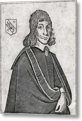 Nicholas Culpeper, English Physician Metal Print by Middle Temple Library