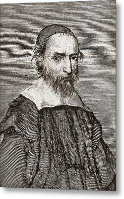 Nicolas Fabri De Peiresc, Astronomer Metal Print by Middle Temple Library